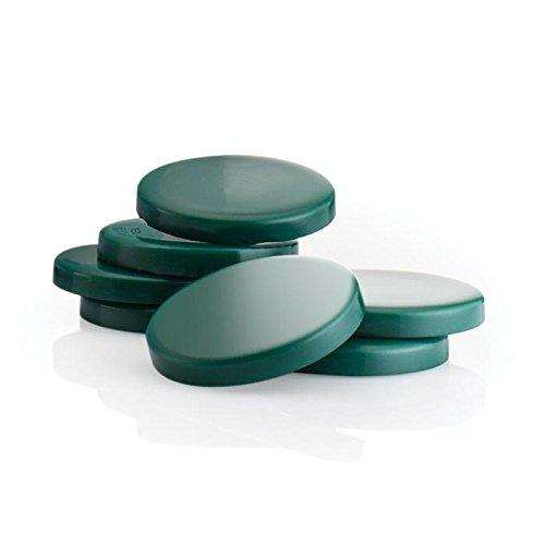Premium Chlorophyll Heißwachs, Intime und Achseln. Benutzung Ohne Vliesstreifen. 400g Scheiben.