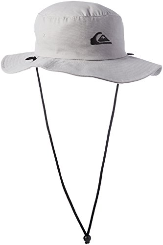 Quiksilver Herren Bushmaster Floppy Sun Beach Hat Baseball Cap, Steeple Grey, X-Large