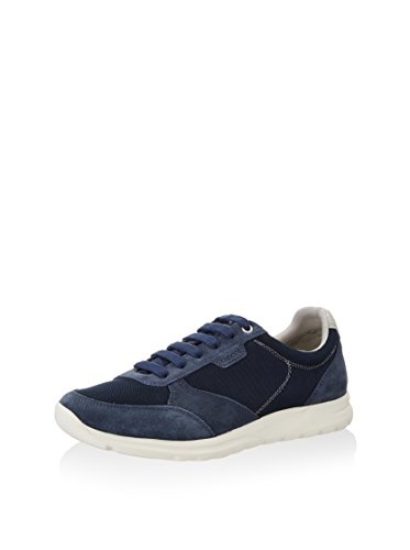 Geox Herrenschuhe U720HC U DAMIAN Sportlicher Herren Sneaker Marine