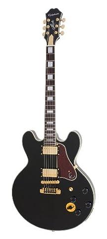 Epiphone B. B. King Lucille Signature Semi-Hollow-Body Electric Guitar, Laminate Maple Body, Laminate Maple Top, Alnico Classic Humbucker Pickups, Rosewood Fretboard, 24.75