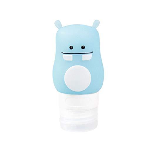 Das rauchbare Design kann an Einer glatten Wand verwendet Werden und ist für die einfache Verwendung auf Reisen geeignet. Shampoo Duschgel Flasche Lotion Kosmetikflasche - Blau 50ml