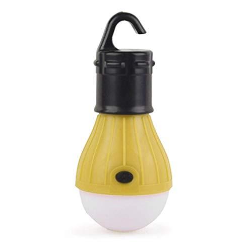 WEIWEITOE Mini tragbare Laterne Zelt licht led Lampe wasserdichte hängen Haken Taschenlampe für Camping, orange, - Hängenden Im Freien Laternen