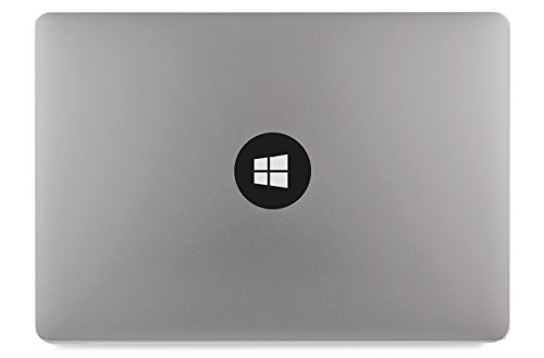 Windows 8 Logo Symbol Kreis Apple MacBook Air Pro Aufkleber Skin Decal Sticker Vinyl (13