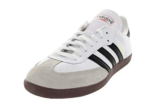 adidas Herren Samba OG Fitnessschuhe, Schwarz (Negbás/Ftwbla/Gum5 000), 46 2/3 EU - Adidas Lifestyle Schuhe