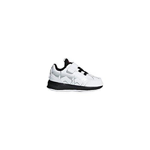 meet 7c1c5 31187 Adidas Starwars RapidaRun I, Zapatillas de Estar por Casa Bebé Unisex,  Blanco (Ftwbla