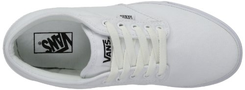Vans M Atwood, Baskets mode homme Blanc (White)