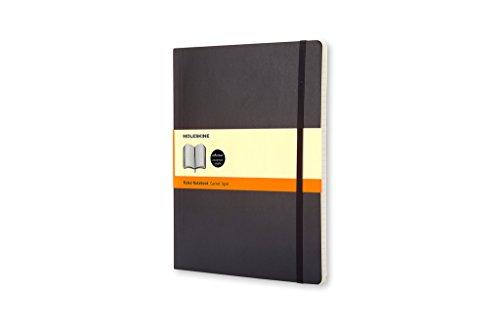 Moleskine Taccuino Notebook, XL, Copertina Morbida, a Righe, Nero