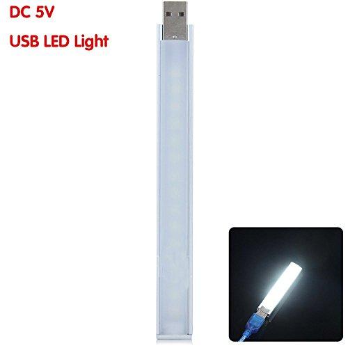 Bazaar 20CM 4.5W SMD 5730 LED steife Streifen weißes Licht USB 21 LED s Licht PC Computer Gadget DC 5V 21 Led-licht
