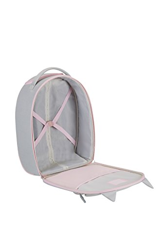 SAMSONITE Happy Sammies - Upright 45/16 Valigia per bambini, 45 cm, 24 liters, Grigio (Kitty Cat)