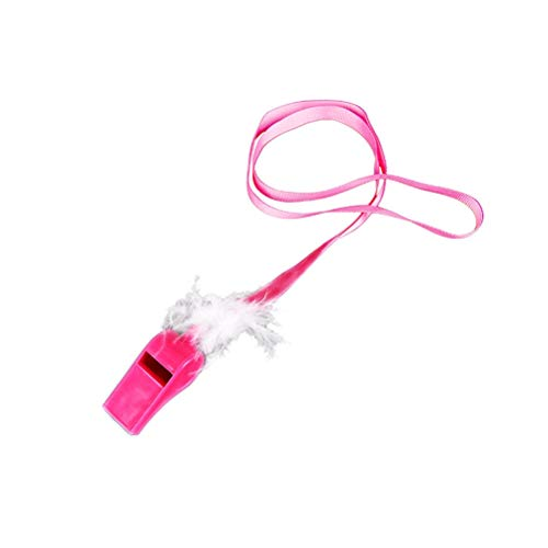Pink White Plastic Whistles Feather Hen Party Night Wedding Bride Toys Favor - Ballons Gril Amrmaid Birthday Shoes Unicorn Wedding Monster Mermaid Supplies Year Tutu Summ ()