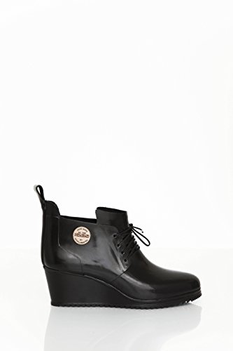 Nokian Footwear by Julia Lundsten - Gummischuhe -Lace Up Shoe- (Originals) [LUS123] Schwarz