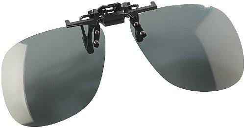 Speeron Klappsonnenbrillen: Sonnenbrillen-Clip Allround für Brillenträger, polarisiert (Sonnenbrillenaufsatz für Brillen)
