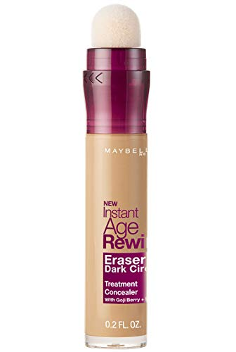 Maybelline New York Instant Age Rewind Eraser Dark Circles Treatment Concealer, Medium 30, 0.2-Fluid Ounce