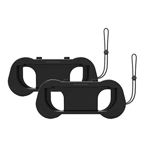 Redvive Oberteil 2 Silikon-Griffe für Nintend-Schalter Joy-Con