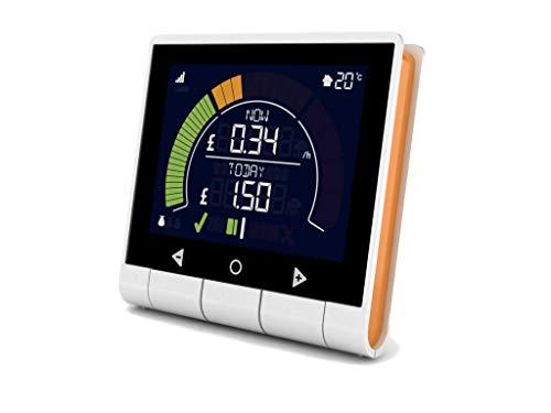 GEO PCK-MP-003 Energiekosten-Messgerät Minim+ Display Pack beleuchtete Anzeige, Kostenprognose, LCD-Farbdispla -