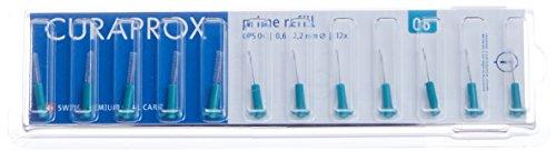 Curaprox CPS 06 prime Interdentalbürsten, 1er Pack (1 x 12 Stück) (E-stab-refill)
