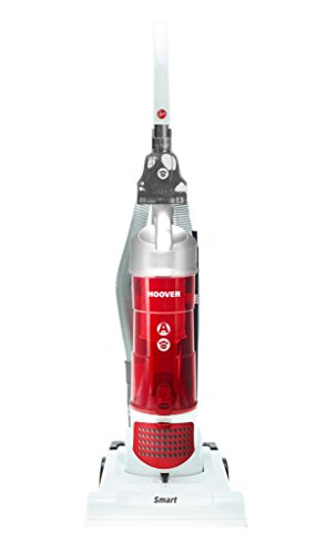 Hoover TH31 SM02 New Smart Upright Pets Vacuum Cleaner, 3 Litre, 350 W, White/Red