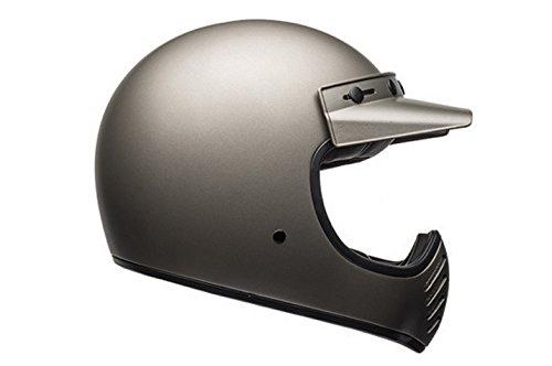 Bell Motorradhelm, Motocross-Helm Moto 3&nbsp, für Erwachsene, Farbe: Independent Matt Titan, Größe L
