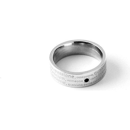 anello uomo gioielli 4US misura 22 casual cod. 4UAN0883/22