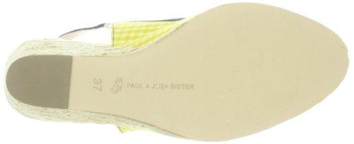 Paul & Joe Sister 212892-50, Ballerines femme Jaune (Jaune/Blanc/Marine 73)