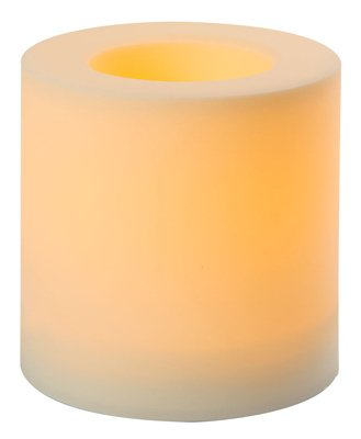 Northern International 6x 6Outdoor Kerze, weiß, 6X 6H Kunststoffhohlstab in. (International-kerze Northern)