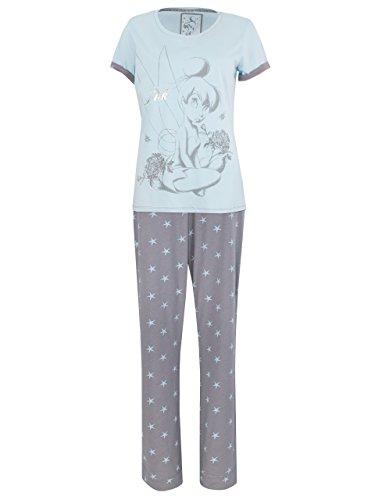 Disney Tinkerbell Damen Tinkerbell Schlafanzug (Erwachsene Schlafanzug Für Disney)