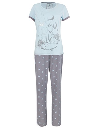 Disney Tinkerbell - Ensemble De Pyjamas - Fée Clochette - Femme, Multicolore, XL