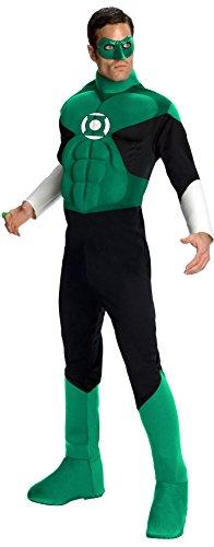 KULTFAKTOR GmbH Green Lantern-Herrenkostüm Superheld grün M