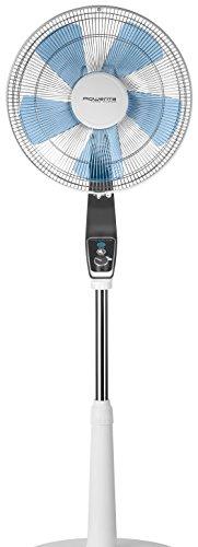 Rowenta Standventilator Turbo Silence Extreme, Durchmesser 40 cm, superleise, grau / anthrazit/ weiß, VU5640
