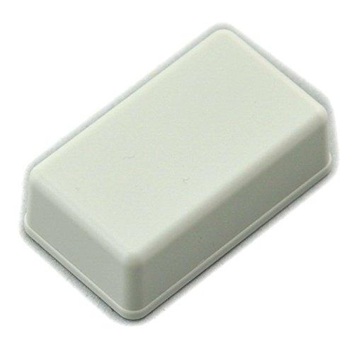 Electronics-Salon Desk-top Box-Scatola in plastica, colore: bianco, 61 x 36 x 15 mm, di alta qualit
