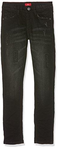 s.Oliver Jungen Jeans 61.708.71.2987, Schwarz (Black Denim Stretch 99Z2), 164