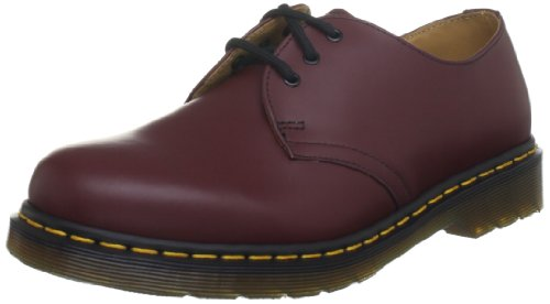 Dr. Marten's 1461 Unisex Lace-up Shoes, Red (Cherry Red Smooth), 3 Uk (36 Eu)
