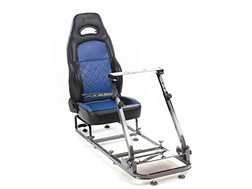 Price comparison product image FK-Automotive FK Silverstone FKRSE18903 Racing Simulator for Racing Games Black / Blue