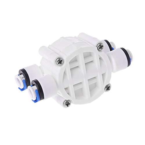Erisl 4-Wege-RO Automatisches Absperrventil Schalter 1/4 Zoll Wasserreiniger Umkehrosmose-System -