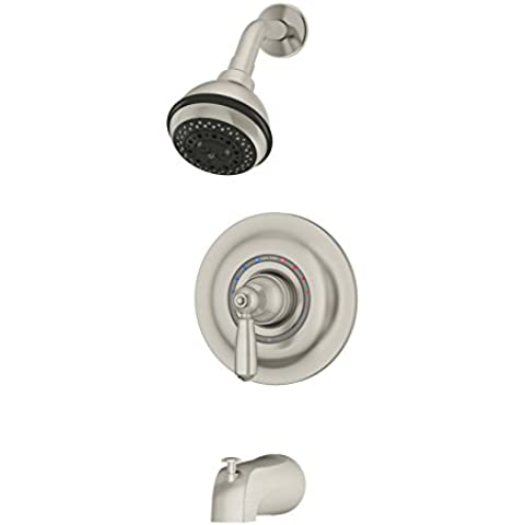 Symmons 4702-STN-TRIM Single Handle Tub and Shower Faucet Trim by Symmons
