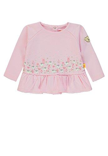 Steiff Baby-Mädchen 1/1 Arm Sweatshirt, Rosa (Barely Pink|Rose 2560), 62 -
