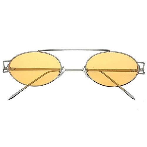 fuqiuwei Sonnenbrillen Einfache Und Vielseitige Retro Runde Rote Sonnenbrille Weibliche Hipster Sonnenbrille Brille