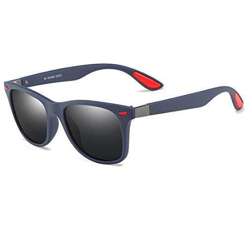 BF-Sunglass BigForest Sonnenbrille für Damen und Herren, polarisierte Sportgläser, zum Laufen, Radfahren, Angeln, UV400 Gr. Einheitsgröße, navy