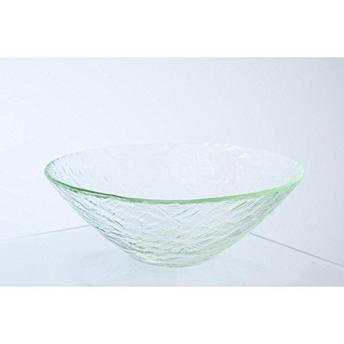 Lot 2 x Coupelle ronde en verre ANJA, transparent, 7 cm, Ø 20 cm - 2 pcs Coupelle apéritif / Coupelle tapas - INNA Glas