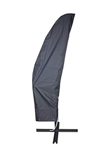 Bambelaa! Schutzhülle Ampelschirm 2-4m 300 cm Wasserdicht 2m Schutzhaube Gartenmöbel Abdeckung Winterfest Abdeckhaube Sonnenschirm