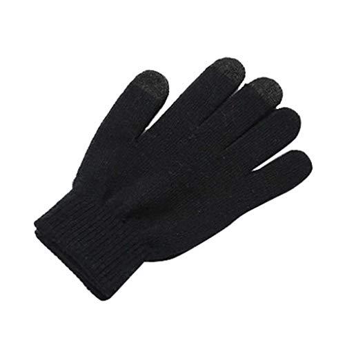 Provide The Best Frauen gestrickte Anti-Rutsch-Screen-Handschuhe Smartphone Texting Stretch Erwachsener Winter-Outdoor-Aktivitäten Handschuhe (Warm Von Eingabe Handschuhe)