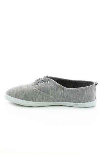 Go Tendance, Damen Sneaker Grau - Gris clair