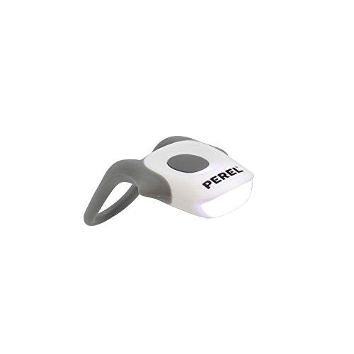 Perel EBL11W Fahrradlampe, Sehr Helle LED, Weiß
