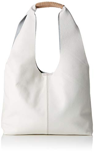 Clarks Damen Tornolo Star Henkeltasche, Weiß (White Leather)