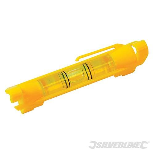 Silverline 250443 Schnurwasserwaage 75 mm