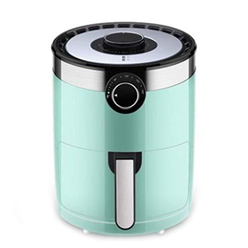 Luftfritteuse, Gesunde Ölfreie Pfanne Multifunktionsfritteuse, 3,5-Liter-Antihaft-Pfanne (Farbe : Grün)