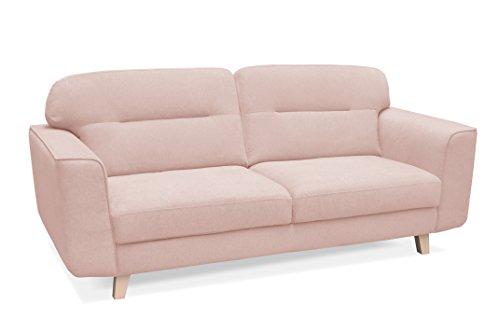 nbf-Sofa-fester-Sofa-skandinavischen-Design-3-Sitzer-Stoff-Holz-206-x-88-x-91-cm