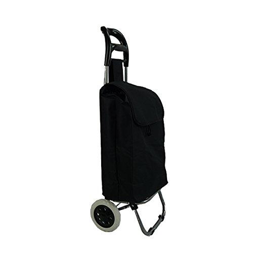TecAffair Einkaufstrolley Einkaufsroller Trolley Roller Einkaufswagen klappbar
