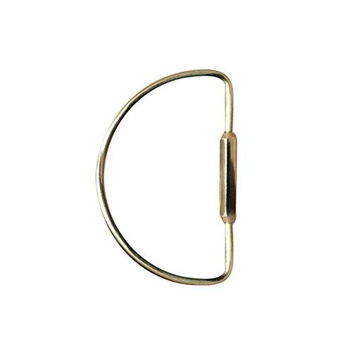 gaeruite Messing Keychain Schlüsselring, Metallschlüssel hängenden Ring für Männer und Frauen