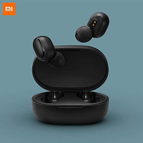 Xiaomi AirDots Auriculares Inalámbricos Bluetooth 5.0 -  Sonido Binaural (Estéreo) HI- FI Estuche de Carga Magnética Micrófono 15h Autonomía IPX5 -  Certificado CE (Garantía 2 años) Negro